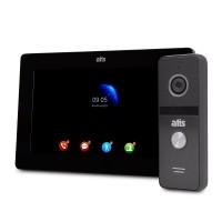 "Комплект Wi-Fi видеодомофона 7"" ATIS AD-770FHD/T-Black с поддержкой Tuya Smart + AT-400FHD Black"