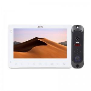"Комплект видеодомофона ATIS AD-780 W Kit box: видеодомофон 7"" и видеопанель"