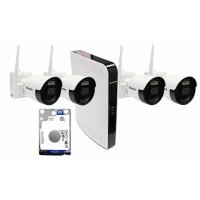 Беспроводной комплект для видеонаблюдения BALTER 2MP Wi-Fi KIT 1TB