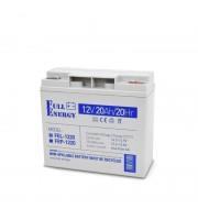 Аккумулятор гелевый 12В 20 Ач для ИБП Full Energy FEL-1220