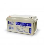 Аккумулятор гелевый 12В 65 Ач для ИБП Full Energy FEL-1265