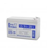 Аккумулятор гелевый 12В 9 Ач для ИБП Full Energy FEL-129