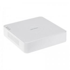 Видеорегистратор Hikvision 4-канальный Turbo HD с поддержкой аудио по коаксиалуDS-7104HUHI-K1(S)