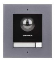 Комплект модуля вызывной IP панели + врезная рамка Hikvision DS-KD8003-IME1/FLUSH