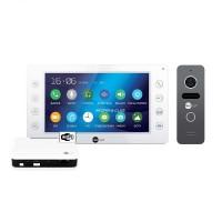 Комплект видеодомофона NeolightKAPPA+ WiFi Box Graphite