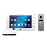 Комплект видеодомофона NeolightKAPPA+ WiFi Box Silver