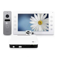 Комплект видеодомофона NeolightKAPPA WiFi Box Silver