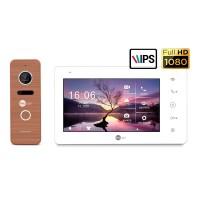 Комплект видеодомофона NeolightNeoKIT HD+ Bronze