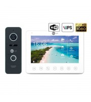 Комплект видеодомофона Neolight NeoKIT HD+ WF2 Black