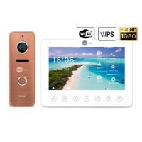 Комплект видеодомофона Neolight NeoKIT HD+ WF2 Bronze