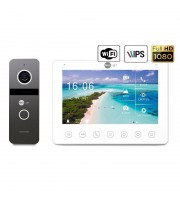 Комплект видеодомофона Neolight NeoKIT HD+ WF2 Graphite