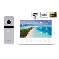 Комплект видеодомофона Neolight NeoKIT HD+ WF2 Silver
