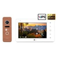 Комплект видеодомофона NeolightNeoKIT HD Pro Bronze