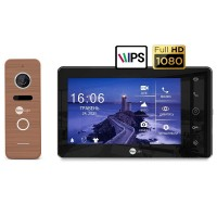 Комплект видеодомофона NeolightNeoKIT HD Pro B/Bronze