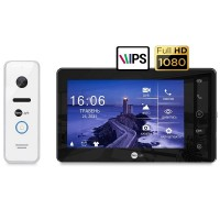 Комплект видеодомофона NeolightNeoKIT HD Pro B/White