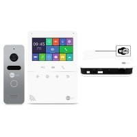 Комплект видеодомофона NeolightTETTA+ WiFi Box Silver