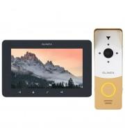 Комплект видеодомофона Slinex SM-07MHD grafit + ML-20HD gold_white