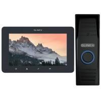 Комплект видеодомофона Slinex SM-07MHD grafit + ML-15HD black
