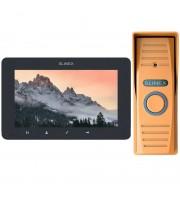 Комплект видеодомофона Slinex SM-07MHD grafit + ML-15HD bronze
