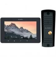 Комплект видеодомофона Slinex SM-07MHD grafit + ML-16HD black