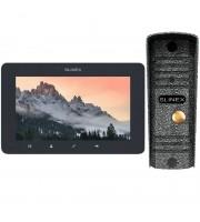 Комплект видеодомофона Slinex SM-07MHD grafit + ML-16HD silver