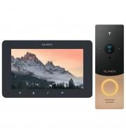 Комплект видеодомофона Slinex SM-07MHD grafit + ML-20HD gold_black