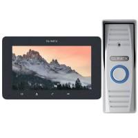 Комплект видеодомофона Slinex SM-07MHD grafit + ML-15HD silver
