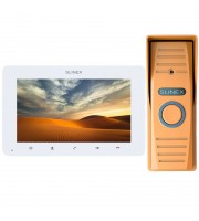 Комплект видеодомофона Slinex SM-07MHD white + ML-15HD bronze