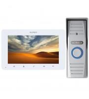 Комплект видеодомофона Slinex SM-07MHD white + ML-15HD silver