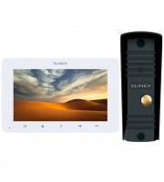 Комплект видеодомофона Slinex SM-07MHD white + ML-16HD black