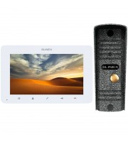 Комплект видеодомофона Slinex SM-07MHD white + ML-16HD silver