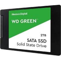 """SSD жесткий диск SATA2.5"""" 2TB GREEN WDS200T2G0A WDC"""