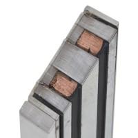 Электромагнитный замок Yli Electronic YM-40 для системы контроля доступа