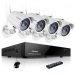 Видеонаблюдение на 4 камеры: особенности применения